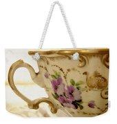 Floral Tea Weekender Tote Bag