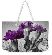 Floral Texture  Weekender Tote Bag
