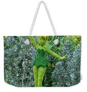 Floral Tinker Bell Weekender Tote Bag by Thomas Woolworth