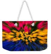 Floral Triple Zoom Weekender Tote Bag