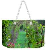 Floral Window Weekender Tote Bag