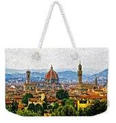Florence Impasto Weekender Tote Bag