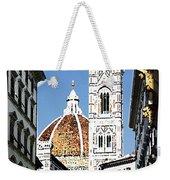 Florence Italy Santa Maria Fiori Duomo Weekender Tote Bag