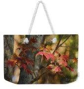 Florida Autumn Leaves Weekender Tote Bag