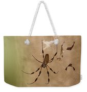 Florida Banana Spider Weekender Tote Bag