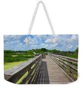 Florida Boardwalk Weekender Tote Bag