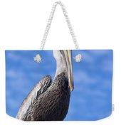 Florida Brown Pelican Weekender Tote Bag by Kim Hojnacki