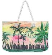Florida City-skyline3 Weekender Tote Bag