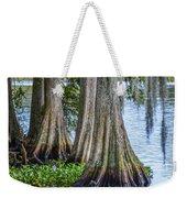 Florida Cypress Trees Weekender Tote Bag