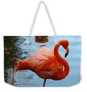 Florida Flamingo Weekender Tote Bag