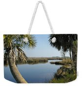 Florida Marshland Weekender Tote Bag