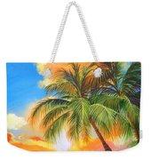 Florida Palm Sunset Weekender Tote Bag
