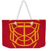 Florida Panthers Goalie Mask Weekender Tote Bag