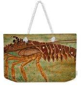 Florida Spiny Lobster Weekender Tote Bag