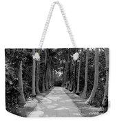 Florida Walkway Black And White Weekender Tote Bag