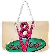 Flo's Cafe Weekender Tote Bag