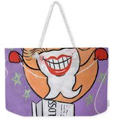 Flossing Tooth Weekender Tote Bag by Anthony Falbo