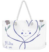 Flourish Within Your Heart Weekender Tote Bag