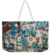 Flower Abstract Weekender Tote Bag