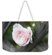 Flower Among The Fence Weekender Tote Bag