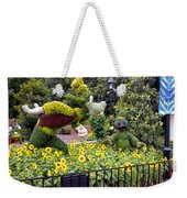 Flower And Garden Signage Walt Disney World Weekender Tote Bag