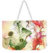 Flower And Leaf Weekender Tote Bag
