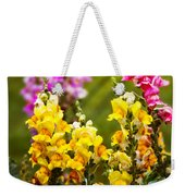 Flower - Antirrhinum - Grace Weekender Tote Bag by Mike Savad