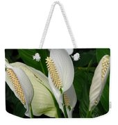 Flower Art Weekender Tote Bag