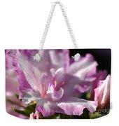 Flower--azalea-white-pink Weekender Tote Bag