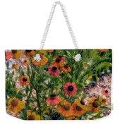 Flower Ballet Weekender Tote Bag