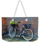 Flower Basket Bicycle Weekender Tote Bag