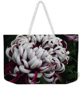 Flower Basket With Purple Texture Weekender Tote Bag