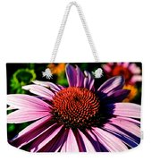 Flower Bed Close Up Weekender Tote Bag