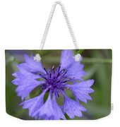Flower Blues Weekender Tote Bag