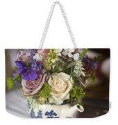Flower Bouquet In A Teapot Weekender Tote Bag