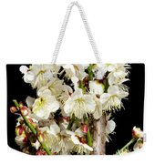 Flower Bunch Bush White Cream Strands Sensual Exotic Valentine's Day Gifts Weekender Tote Bag