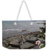 Flower By The Sea Weekender Tote Bag