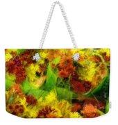 Flower Carnival Weekender Tote Bag
