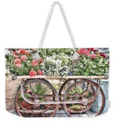 Flower Cart Weekender Tote Bag