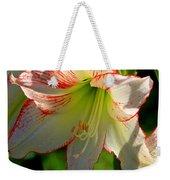 Flower Child Amaryllis Flower Art Weekender Tote Bag