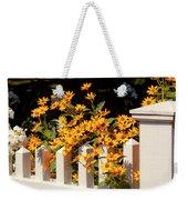 Flower - Coreopsis - The Warmth Of Summer Weekender Tote Bag by Mike Savad