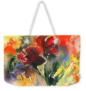 Flower Festival Weekender Tote Bag