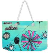 Flower Fever Weekender Tote Bag
