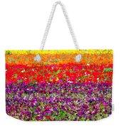 Flower Fields Weekender Tote Bag