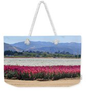 Flower Fields Of Lompoc Valley Weekender Tote Bag