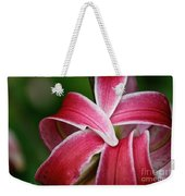 Flower Fist Weekender Tote Bag