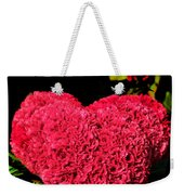 Flower For The Heart Weekender Tote Bag