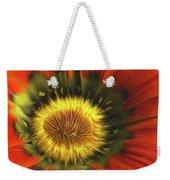 Flower Fractal Weekender Tote Bag