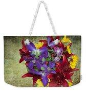 Flower - Garden Joy - Luther Fine Art Weekender Tote Bag
