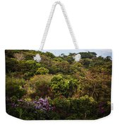 Flower Garden On A Hill Weekender Tote Bag